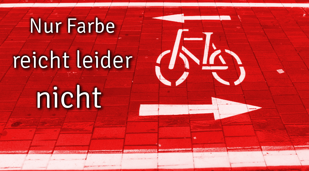 Fahrradstadt schwer gemacht