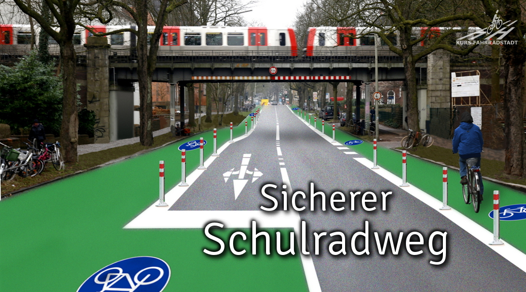 """""""Radentscheid Hamburg"""" ruft zur Schulweg-Fahrraddemo auf"""