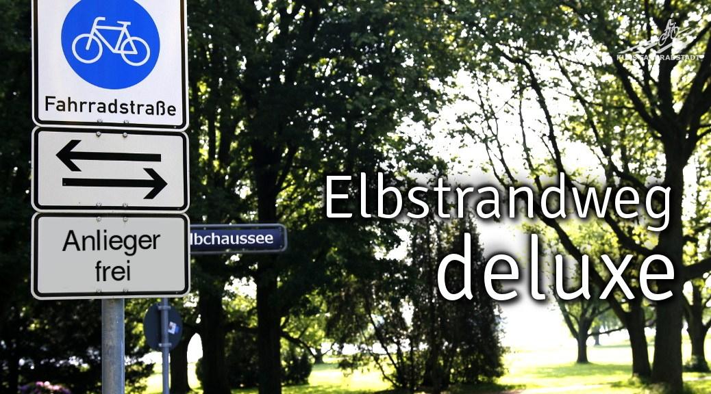 Elbchaussee wird Fahrradstraße