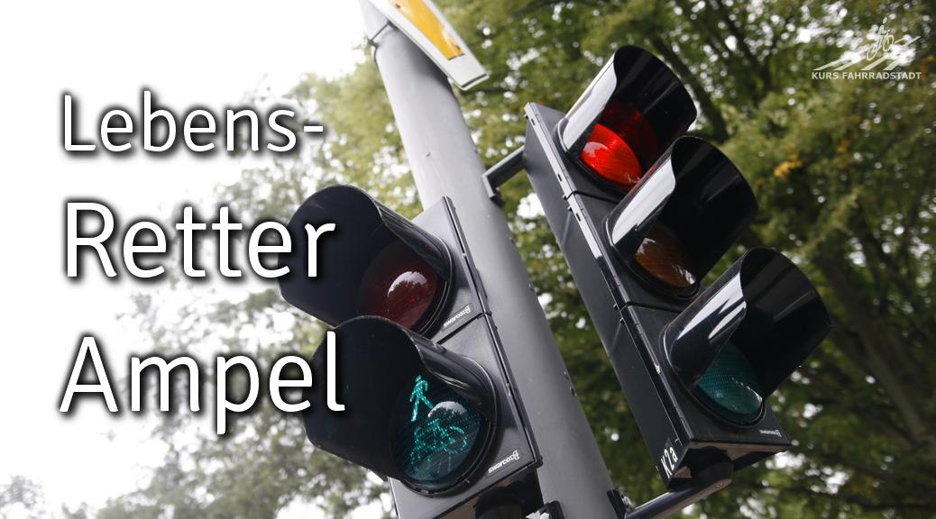 Retter-Ampeln, autofreie Innenstadt und über 3.000 UnterstützerInnen von KURSFAHRRADSTADT