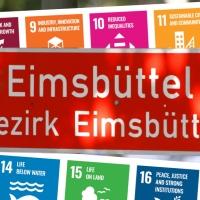 """""""Seventeen #SDG's Zone"""" Eimsbüttel"""