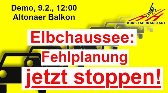Demo KFHH Elbchaussee Fehlplanung