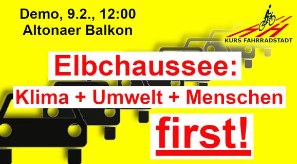 Demo KFHH Elbchaussee Klima first
