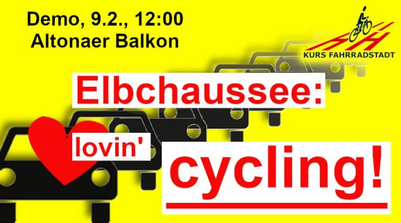 Demo KFHH Elbchaussee lovin cycling