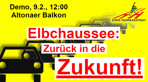 Demo KFHH Elbchaussee Zukunft