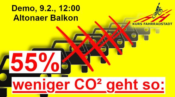 Demo KFHH Elbchaussee 55 prozent