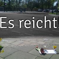 Warum? Wieder LKW-Fahrrad-Abbiege-Unfall in Hamburg